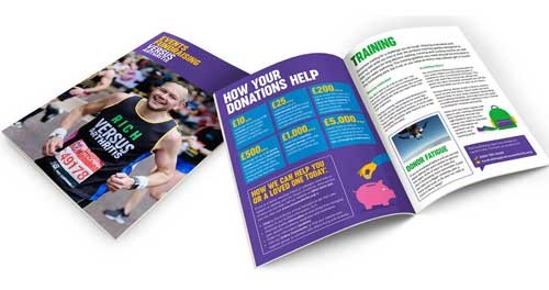 Our event fundraising booklet